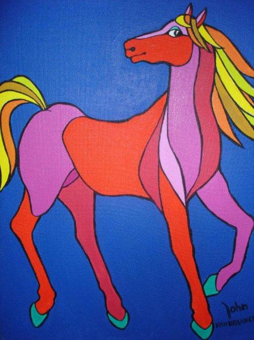 Schilderij 'Colorhorse'