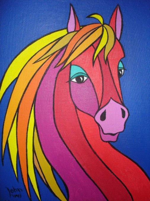 Schilderij 'Horseshead' - John van Draanen